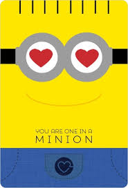 minion valentine card valentines cards