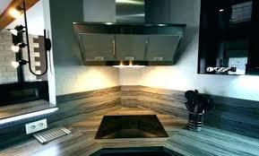 hotte cuisine angle hotte de cuisine en angle cuisine avec piano hotte de