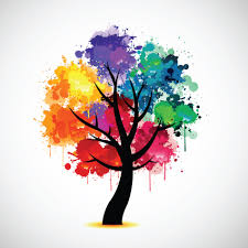 creative colorful tree design elements vector 05 vector plant