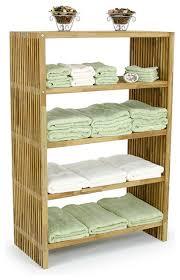 Bathroom Towel Storage Cabinets Westminster Teak Towel Shelf Style Bathroom Cabinets And