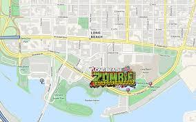 Map Of Long Beach Directions Long Beach Zombie Fest