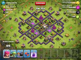 Clash Of Clans Maps Image Reccomended Base2 Png Clash Of Clans Wiki Fandom