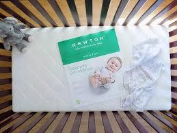 Crib Mattress Fit by Newton Baby Wovenaire Crib Mattress Review The Mom Friend