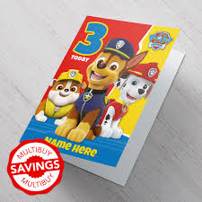 personalised birthday cards for kids cardfactory co uk