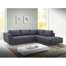 canap angle tissu gris canapé d angle moderne louna tissu gris atout mobilier