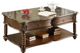Traditional Coffee Table Homelegance Lockwood 3 Piece Rectangular Coffee Table Set With