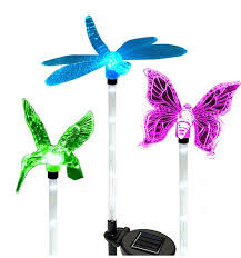 Multi Colored Solar Garden Lights by Compare Prices On Solar Butterfly Light Garden Stake Online