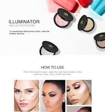 sunscreen waterproof shimmer illuminator makeup highlighter powder