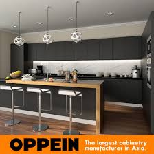 wooden kitchen cabinets wholesale china wholesale modern stylish black matte lacquer wooden kitchen