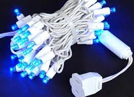 C9 White Christmas Lights Astounding 25 Blue White Christmas Lights With Wires Contemporary