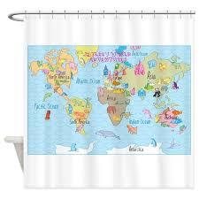 Shower Curtain World Map Shower Curtain World Map Target 28 Images World Map Shower