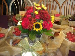 utah county thanksgiving fresh flower centerpiece