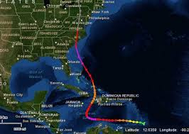 Caribbean Weather Map by Matthew U0027s Track Is Eerily Similar To Hurricane Hazel U0027s In 1954
