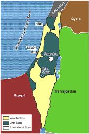 middle east map united nations 1947 united nations proposed partition map for palestine the jews