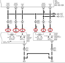 door lock actuator wire diagram at door lock actuator wiring