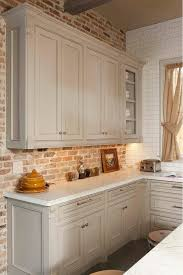 kitchen backsplash brick 30 awesome kitchen backsplash ideas for your home grey kitchen
