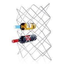 modern stainless steel wine racks allmodern