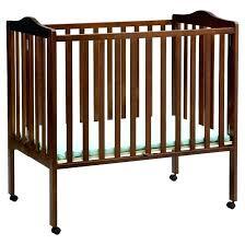 full size la baby wood folding crib portable cribs cheap