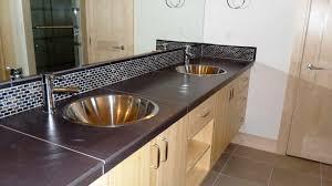 fancy ideas bathroom counter backsplash vanity countertop end