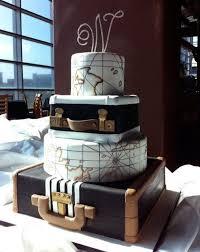 theme wedding cakes 28 beautiful travel themed wedding cakes weddingomania
