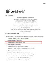 lexisnexis vs clear nj affidavit of merit statute 26 27 29 medical malpractice in