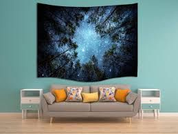 amazon com jungle starry sky 3d digital printing polyester