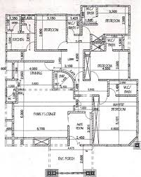 Four Bedroom House Floor Plans by Four Bedroom Bungalow House Plans Escortsea