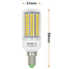 Led Bulb Lights by E14 15w Led Corn Light 180x 2835 Smd Led Bulb Lamp In Warm White