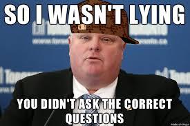 Rob Ford Meme - buzzcanada top 25 controversial statements of toronto mayor r