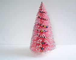 pink christmas decor etsy