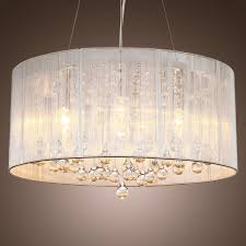gray drum shade chandeliers small lamp shades style light design
