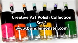 bundle monster set 2 creative art polish collection swatches