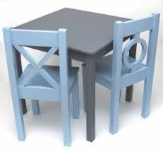 Child Table And Chair Childrens Table And Chair Sets Wooden Foter