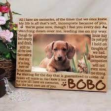 pet memorial gifts personalized dog memorial stepping pet memorial gifts