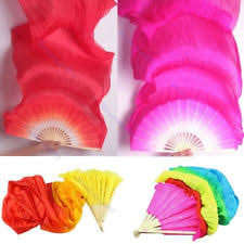 silk fans fan veils ebay