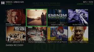 Eminem Curtains Up Download by Install Urban Mix Kodi Addon Best For Kodi