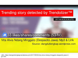 download mp3 despacito versi islam vita alvia ndang minggato despacito jawa mp3 lirik