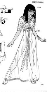 information on egyptain hairstlyes for and ancient egyptian hairstyles plate 2 habberdashery pinterest