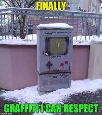 Graffiti Meme - i can respect that graffiti nintendo know your meme