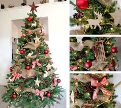 astonishing decoration rustic christmas tree decorations 14 burlap