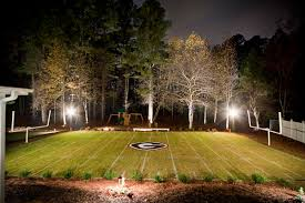 dream backyard outdoor lighting replica sanford stadium