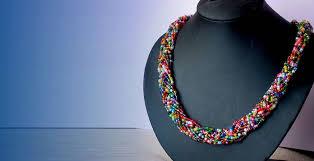 fashion necklace making images Bead making skill acquisition and entrepreneurship training jpg