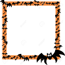 halloween border border picture frames images crafts and frames ideas