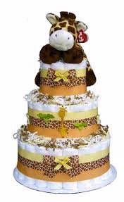 baby shower jungle safari diaper cake birthday cakes