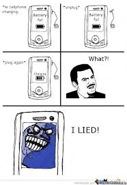 Cellphone Meme - le cellphone charging by mustapan meme center