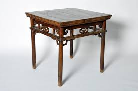 Chinese Desk Chinese Square Top Game Table