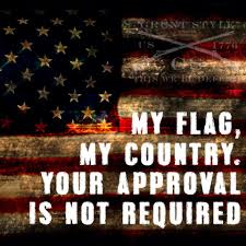 American Flag Regulations Grunt Style On Grunt Style Flags And Military