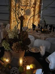 cobblestone farms wedding table centerpieces