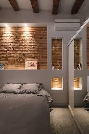 Best  Brick Wall Bedroom Ideas On Pinterest Industrial - Bedroom walls design