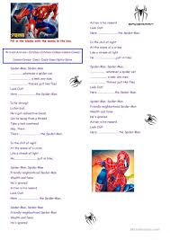 Spider Worksheets 22 Free Esl Spider Worksheets